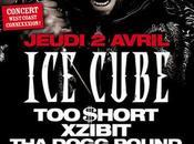 Concert Cube Xzibit $hort Dogg Pound Muggs Zénith Avril