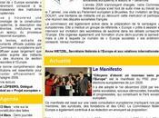 lettre d'information Commission Europe fédération Nord Parti Socialiste
