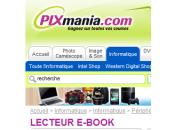 Pixmania complète offre lecteurs d'ebooks