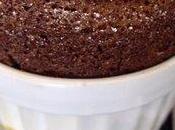 Soufflé chocolat noir citron