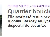 Comment Sarkozy s'est invité dans lycée sans être chahuté