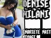Nous tenons téton Denise Milani Rien
