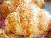 Délicieux petits croissants feuilletés sans beurre, lait