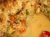 Coco crumble légumes curry