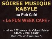 Soirées musicales kabyles week café
