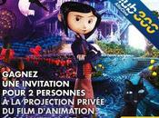 Gagnez invitation pour film d'animation Coraline
