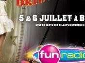 Britney Spears concert Paris avec Radio