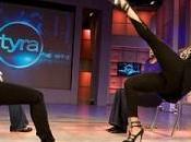 partie jambe l'air avec Tyra Banks Kardashian