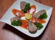 langue porc sauce piquante