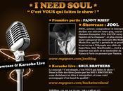 Karaoké soul live need reçoit JOOL