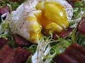 Menu gones recettes lyonnaises salade lyonnaise