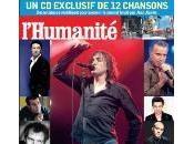 chansons pour soutenir journal l'Humanité