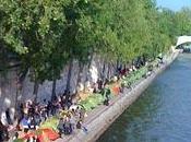 """""""Enfants Quichotte"""" évacués quais Seine"""