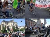 Manif vélo contre