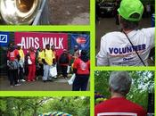 Terminus voyage Aids Walk Central Park.