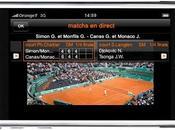 Suivez direct Roland Garros votre iPhone/iTouch