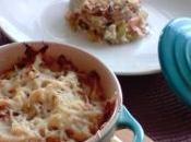 Cocotte saumon gratinée