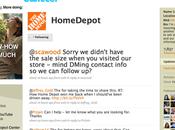 Utiliser Twitter pour enseigne distribution Home Depot