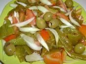 Felfel chladha (Salade poivrons grillés)