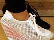 Adidas SLVR Mesh Wedge Sneaker