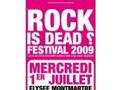 Festival: rock dead?