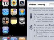 tethering gratuit pour tous iPhone 3GS.