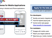 Google adsense pour applications iPhone