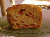 Cake poivrons rouges oignons