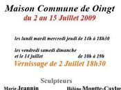 EXPOSITION Oingt Beaujolais Juillet 2009