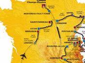 Tour France 2009 carte parcours détail étapes