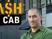Taxi payant célèbre taxi dans rues Montréal aujourd'hui!