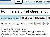 Pomme shift Greenshot