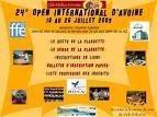 Open International Touraine, Avoine 18-26 juillet 2009