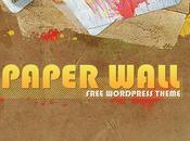 Paper wall nouveau thème wordpress gratuit