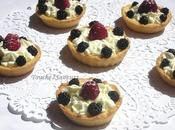 Tartelettes mascarpone fruits rouges