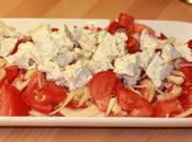 Salade tomates fenouil feta