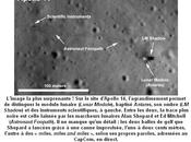 traces d'Apollo lune