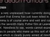 Emma Watson n'est morte dans accident voiture