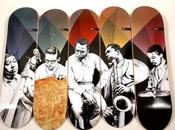 Miles Davis Quintet Skateboards Western Edition