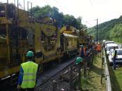 Renouvellement voies rapide entre Mantes-la-Jolie Vernon