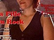 Fille rock couverture Rolling Stone Magazine