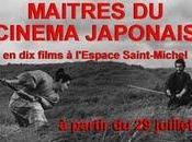 Maîtres cinéma Japonais l'Espace Saint-Michel