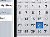 Synchronisation sans d'Yahoo Agenda avec iPhone