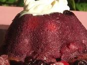 Petit moelleux fruits rouges, coeur coulant chocolat noir