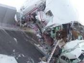 Crash hallucinant d'un airbus A340-600