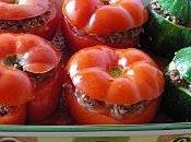 Tomates courgettes farcies façon