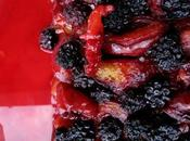 Tarte mûres prunes