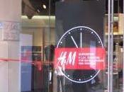 Ouverture nouveau magasin H&M; Boulevard Haussmann