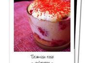 Plateau apéro 80mn Tiramisu fruité fraises rose
