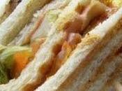Club-sandwich poulet